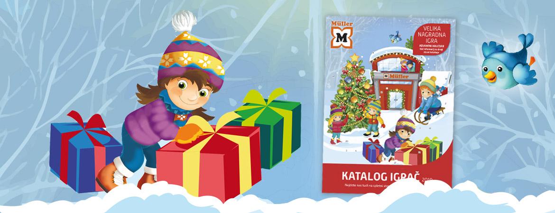 Nagradna igra Adventni koledar Kataloga igrač