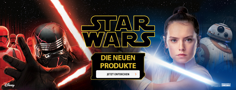 Neue Produkte für Star Wars-Fans