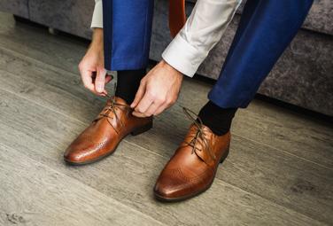 Schicke Herren Socken