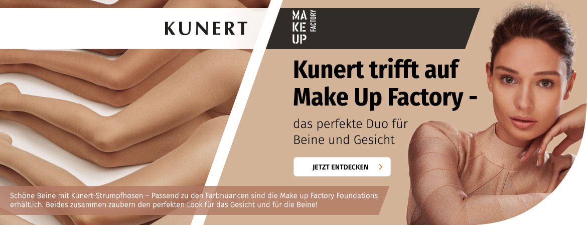 Kunert & Make Up Factory Aktion