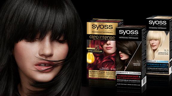 Haare zu Hause färben mit SYOSS