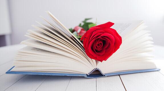 Liebesgedicht zum Valentinstag
