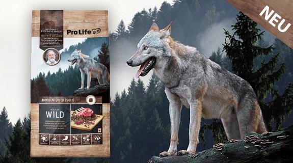 Pro Life Mössner Spezialhundenahrung Wild