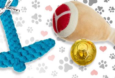 Tierspielzeug für Hund und Katze