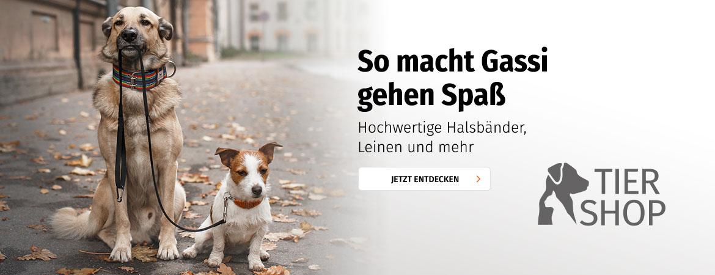 Tierzubehör und Accessoires für Hunde
