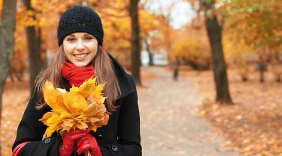 Tipps gegen den Herbstblues - Spaziergang
