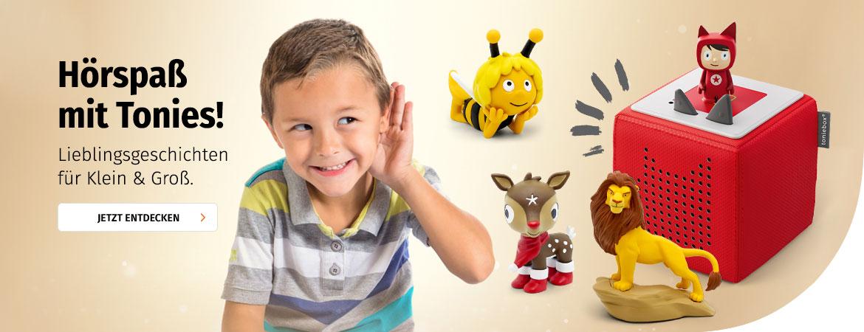 Tonies - Hörspielspaß im Kinderzimmer