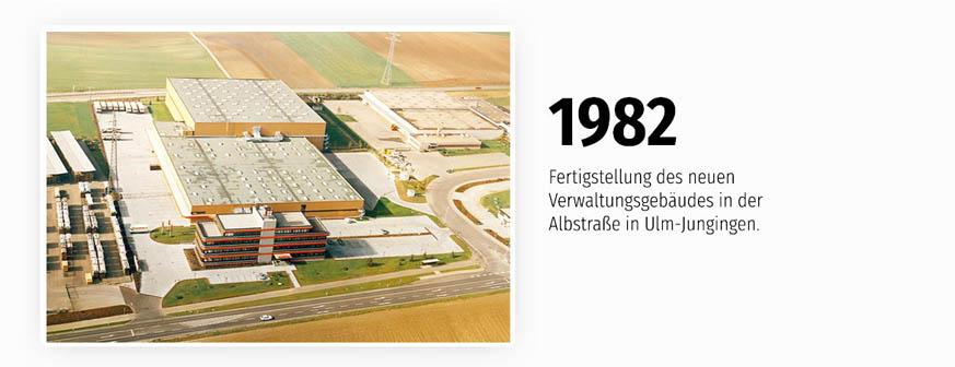 Das neue Verwaltungsgebäude in Ulm-Jungingen