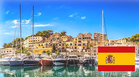 Müller in Spanien - Ansicht Hafen