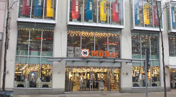 Besonderheit: 8 Müller Beauty Stores