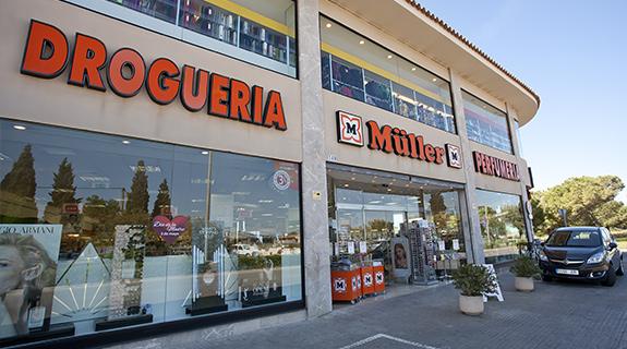 Derzeit gibt es 11 Müller-Filialen auf Mallorca