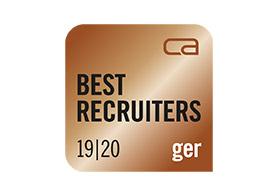 Bronze Best Recruiter 2019/20
