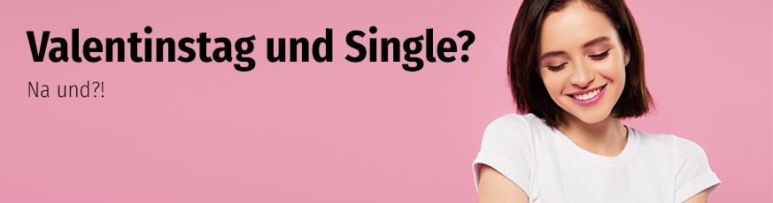 Valentinstag und Single?