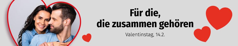 Verlockende Angebote zum Valentinstag