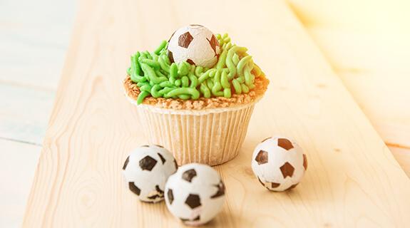 Fussball Muffin