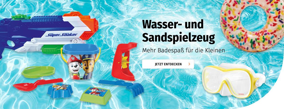 Wasser- & Sandspielzeug