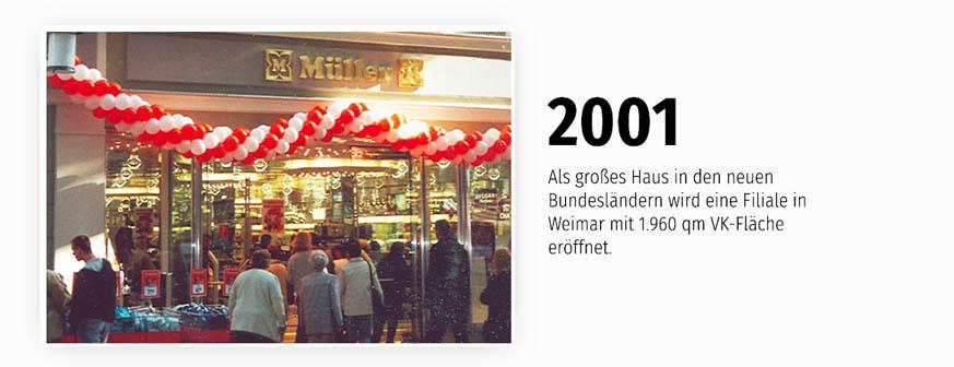 Die Filiale in Weimar mit 1960 qm Verkaufsfläche