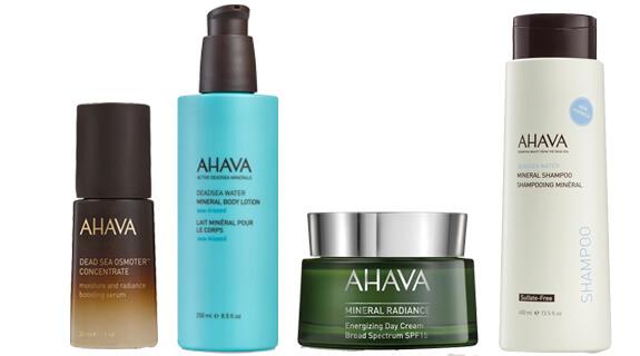 Productos de Ahava