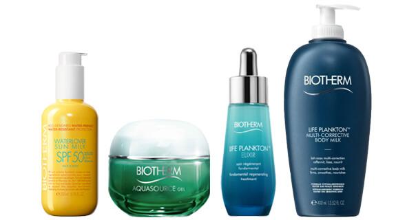 Produkte von Biotherm
