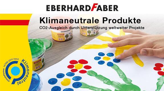 Klimaneutrale Produkte von Eberhard Faber