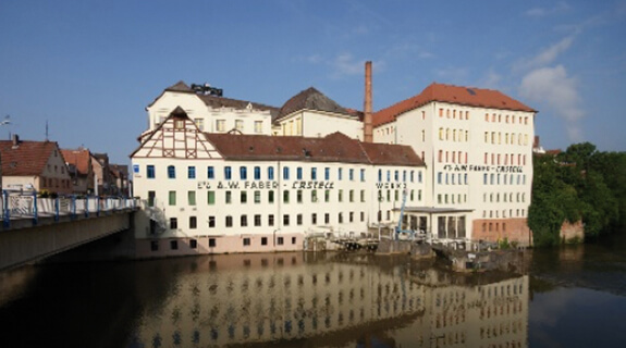 Turbina de agua de Faber-Castell en Stein (Alemania)