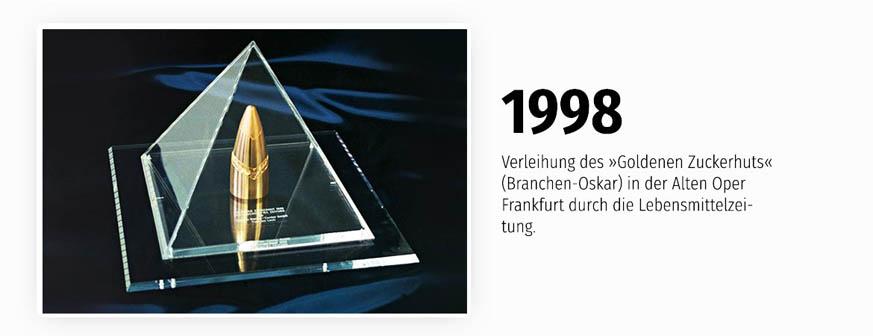 Verleihung des Branchen-Oskars - der Goldene Zuckerhut