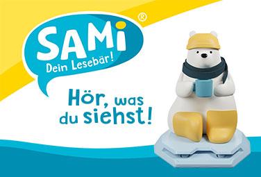 SAMi - Dein Lesebär