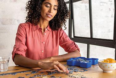 2D Puzzle bei Müller
