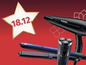 20% Rabatt auf Haartrockner, Hairstyler & elektrische Herrenrasierer