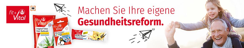 Fit+Vital eine Eigenmarke von Müller