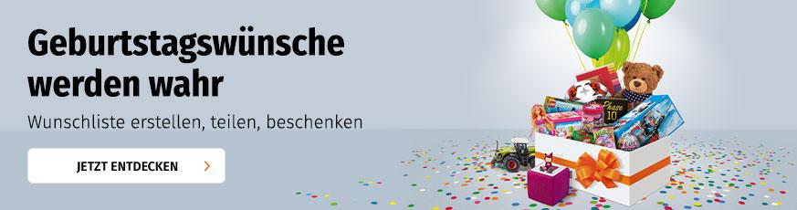 Müller Wunschliste anlegen