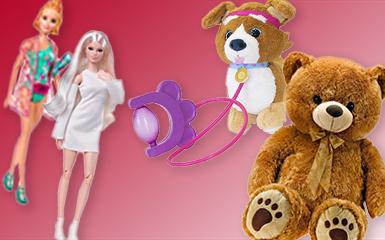 Kuscheltiere & Puppen