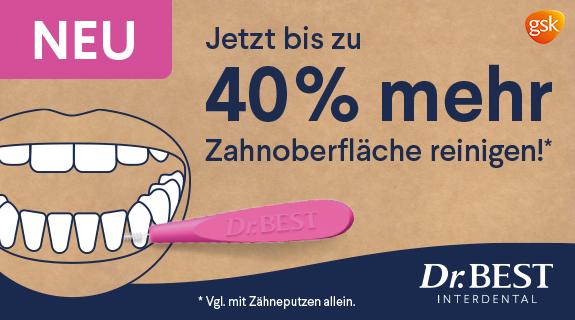 Rundum gründliches Zähneputzen mit Dr.Best