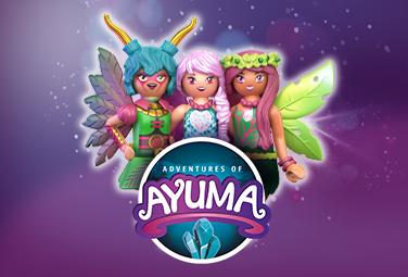 Playmobil Adventures of Ayuma
