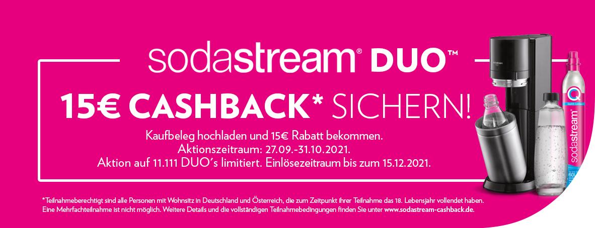 SodaStream Cashback Aktion