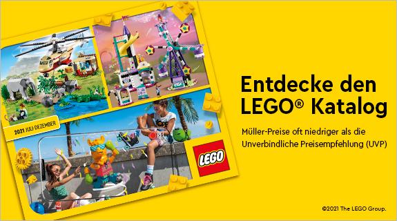 Lego Katalog bei Müller