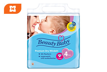 Beauty Baby otroške plenice