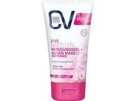 CV SOFT 2v1 micelarni čistilni gel za odstranjevanje ličil za oči