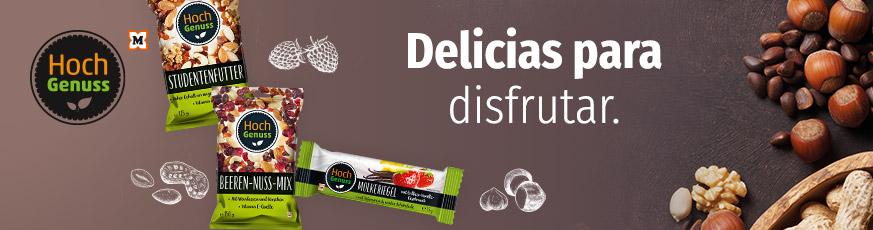 Hochgenuss -Delicias para disfrutar