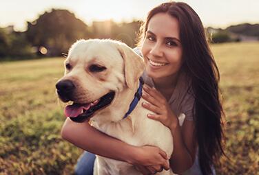 Un día con el perro