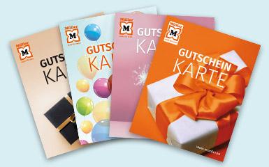 Gutschein-Karten von Müller
