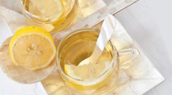 Gyömbéres-citromos tea