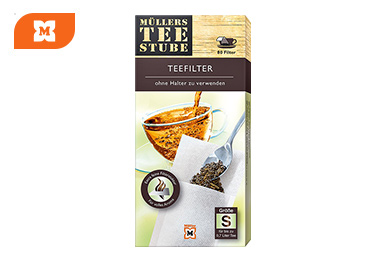 Müllers Teestube Filtros de té