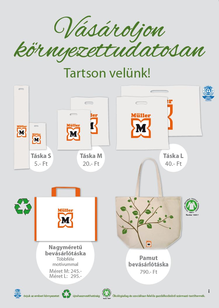 Vásároljon környezettudatosan