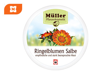 Müller Pflanzenkosmetik mazilo z ognjičem