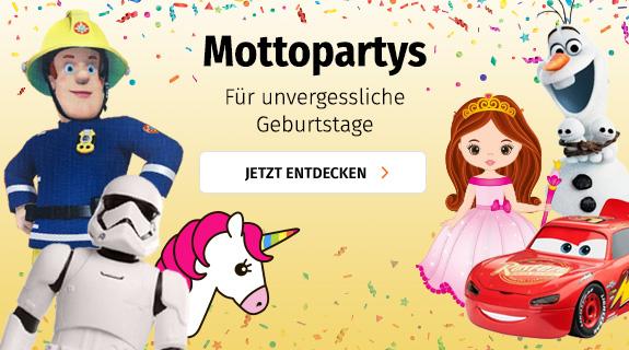 Mottopartys am Kindergeburtstag bei Müller