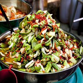 Thai uborkasaláta