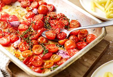 Tomatensauce aus dem Ofen