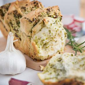 Fűszeres töltött kenyér