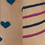 Modeset 1 (dunkelblau/pink)